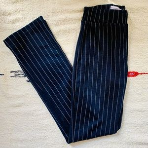 Urban Outfitters Casey knit flare striped pants XS